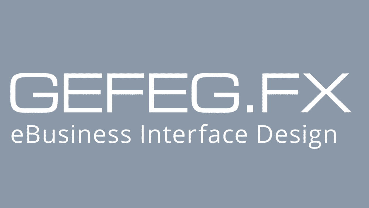GEFEG.FX Software